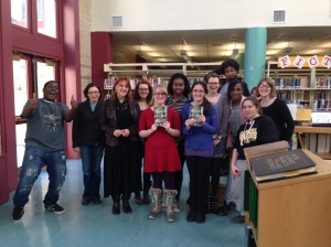 Author Cal Armistead with the BLA Book Club
