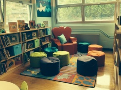 Beautiful new reading corner