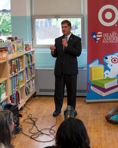 Mayor Walsh celebrates new Hurley library